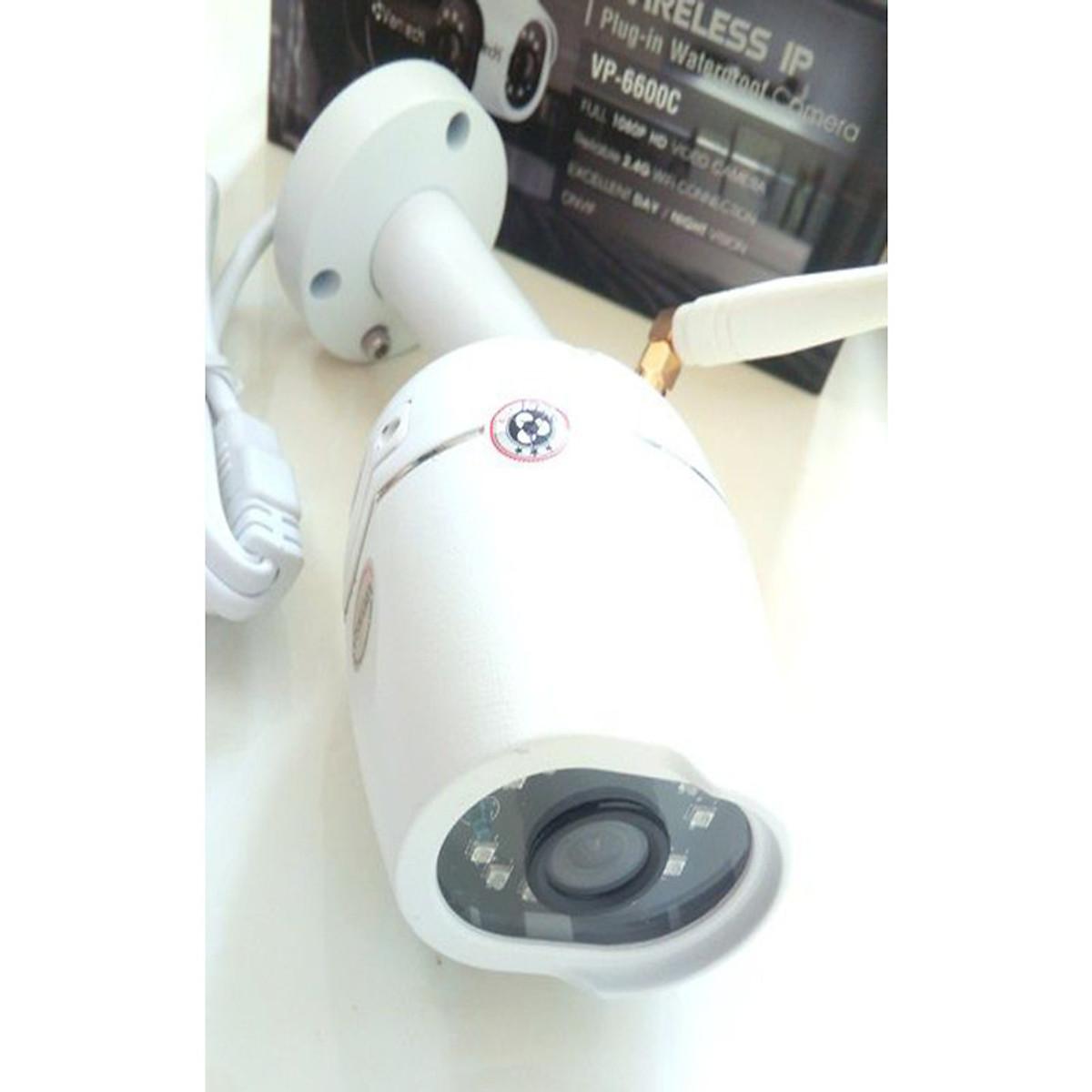 Camera IP hồng ngoại không dây 2.0 Megapixel VANTECH VP-6600C-Hàng Chính Hãng