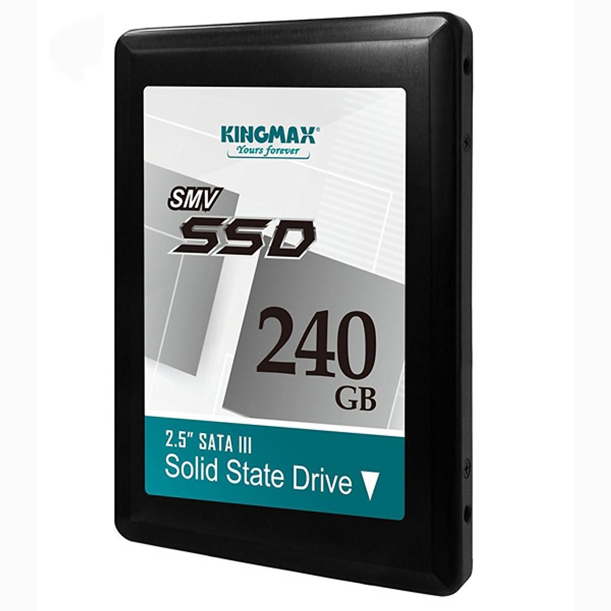 Ổ Cứng SSD Kingmax 240GB Sata III 2.5Inch SMV32 – Hàng Chính Hãng