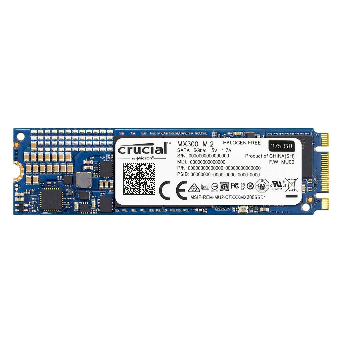 Ổ Cứng SSD M.2 Crucial MX300 275GB – Hàng Chính Hãng