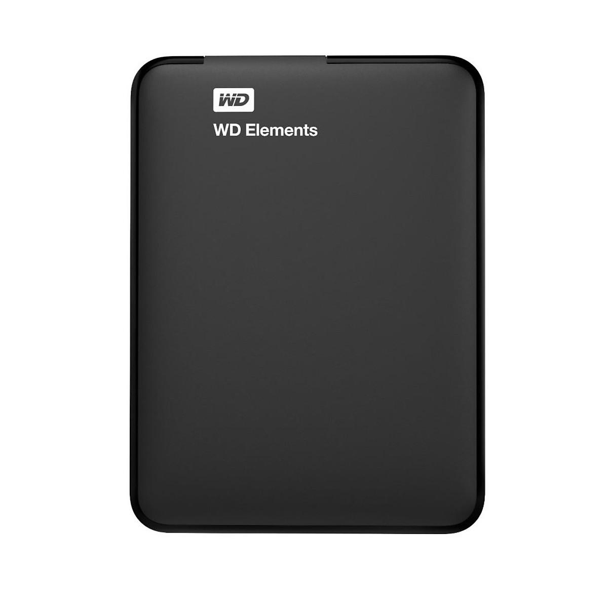 Ổ Cứng Di Động WD Elements 500G 2.5 USB 3.0 – WDBUZG5000ABK – Hàng Chính Hãng