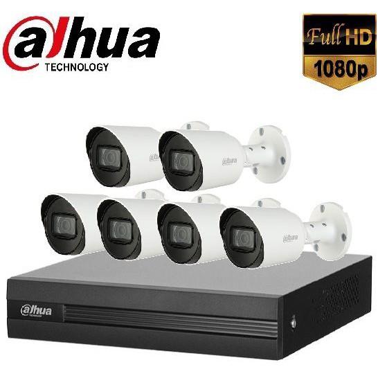 Trọn gói Camera Văn phòng 01 – 6 camera Dahua (2MP)
