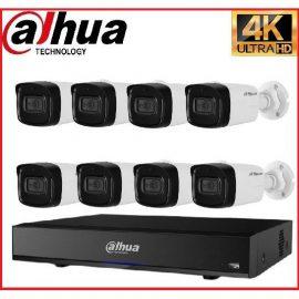 Trọn gói Camera Cao cấp 4K 01 – 8 camera Dahua (8MP)