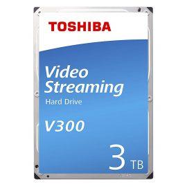 Ổ Cứng HDD Toshiba 3.5″ 3TB VideoStream V300 series (64MB) 5940rpm SATA3 (6Gb/s) HDWU130UZSVA – Hàng Chính Hãng