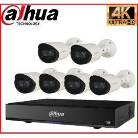 Trọn gói Camera Cao cấp 4K 02 – 6 camera Dahua (8MP)