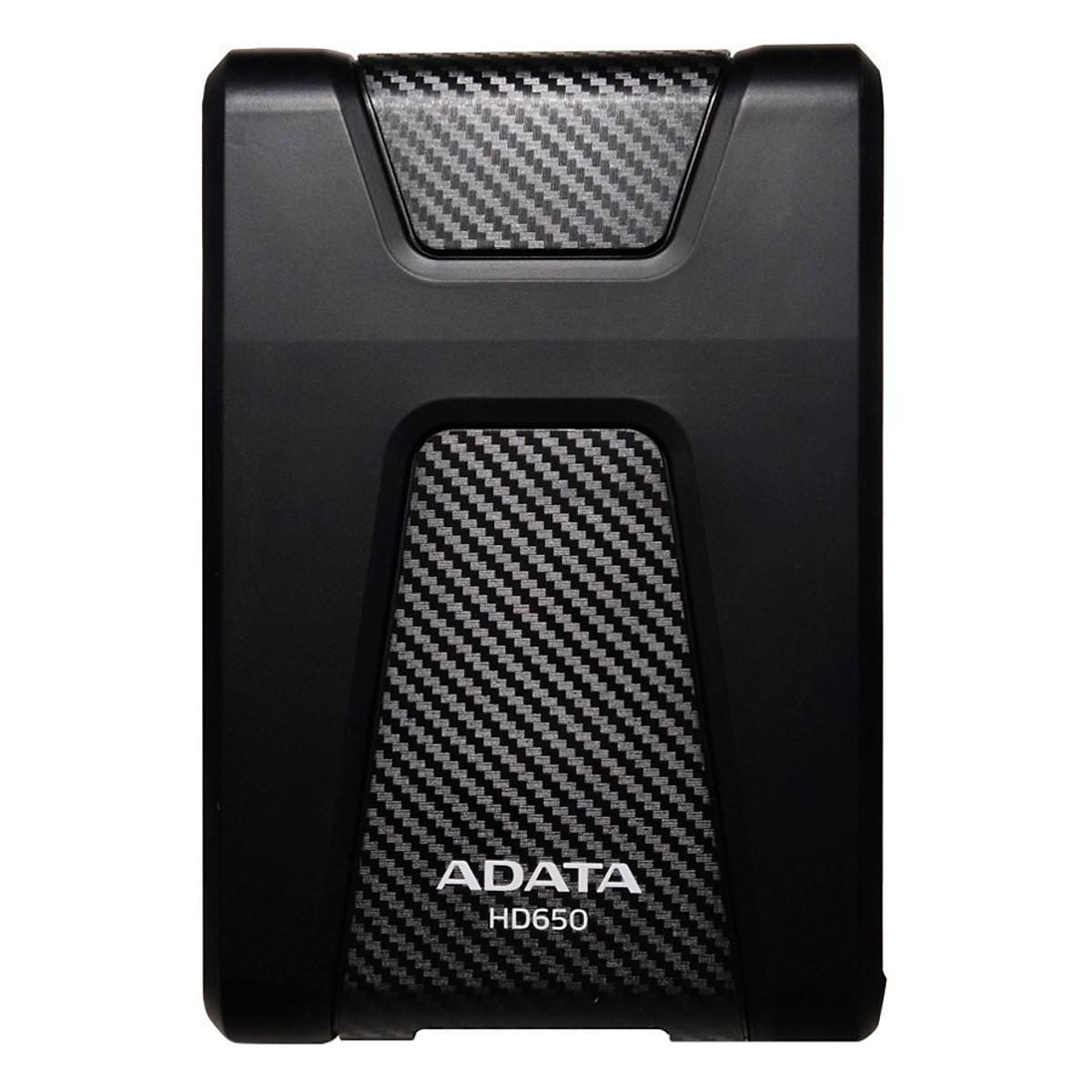 Ổ Cứng Di Động 3.0 1TB Chống Sốc ADATA HD650 + Tặng Đèn LED USB