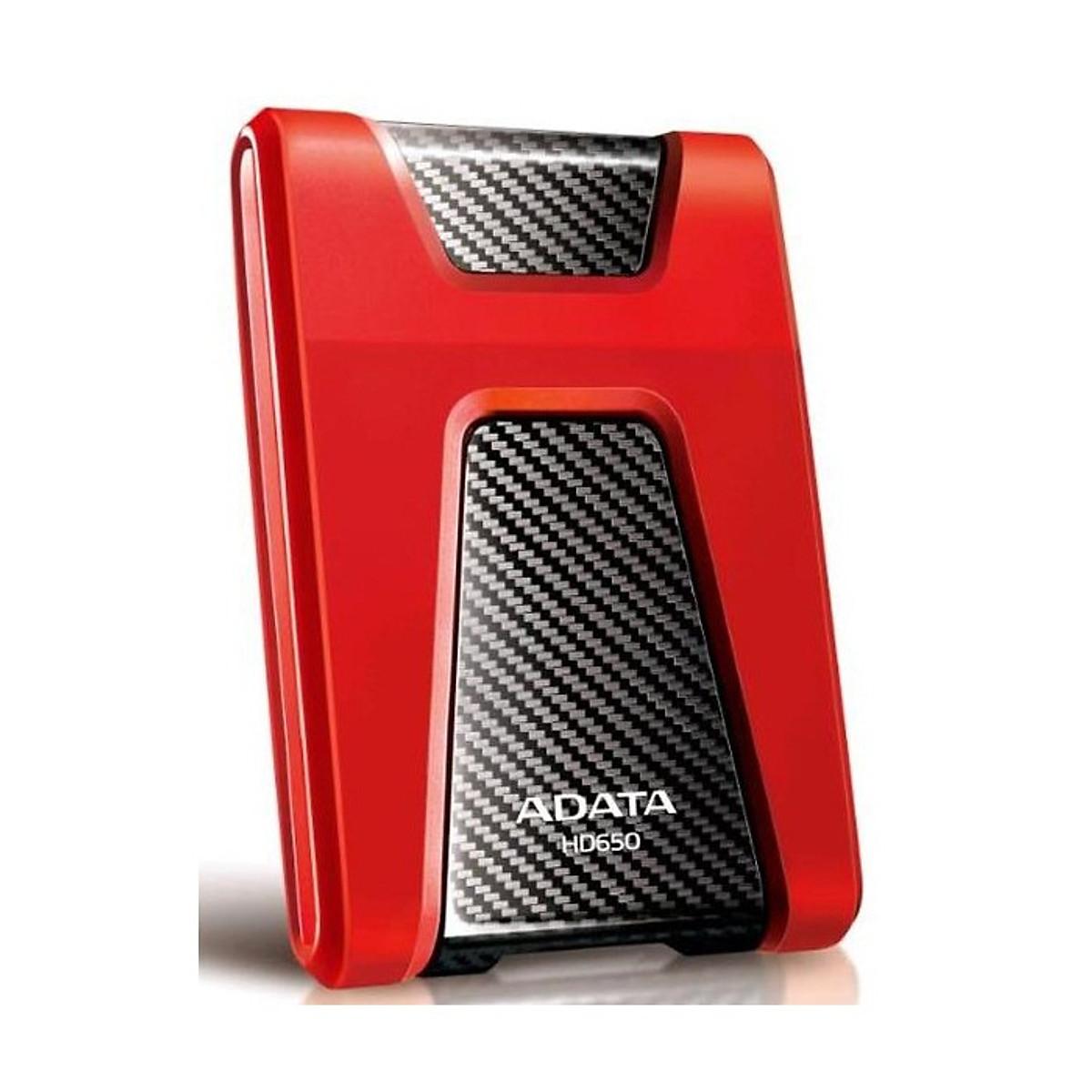 Ổ Cứng Di Động ADATA HD650 500 GB – USB 3.0 – Hàng Chính Hãng