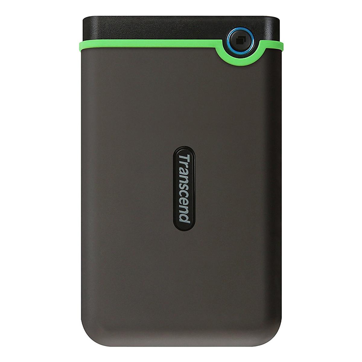 Ổ Cứng Di Động Transcend M3S 2TB Slim USB 3.0/3.1 TS2TSJ25M3S – Hàng Chính Hãng