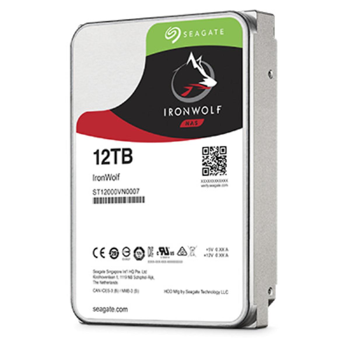 Ổ cứng HDD Seagate IronWolf Pro 12TB ST12000NE0007 – Hàng chính hãng