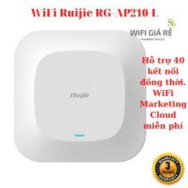 Thiết bị phát sóng WiFi Ruijie RG-AP210-L, tốc độ 2.483GHz, Full box, mới 100%, bảo hành 03 năm- Hàng chính hãng