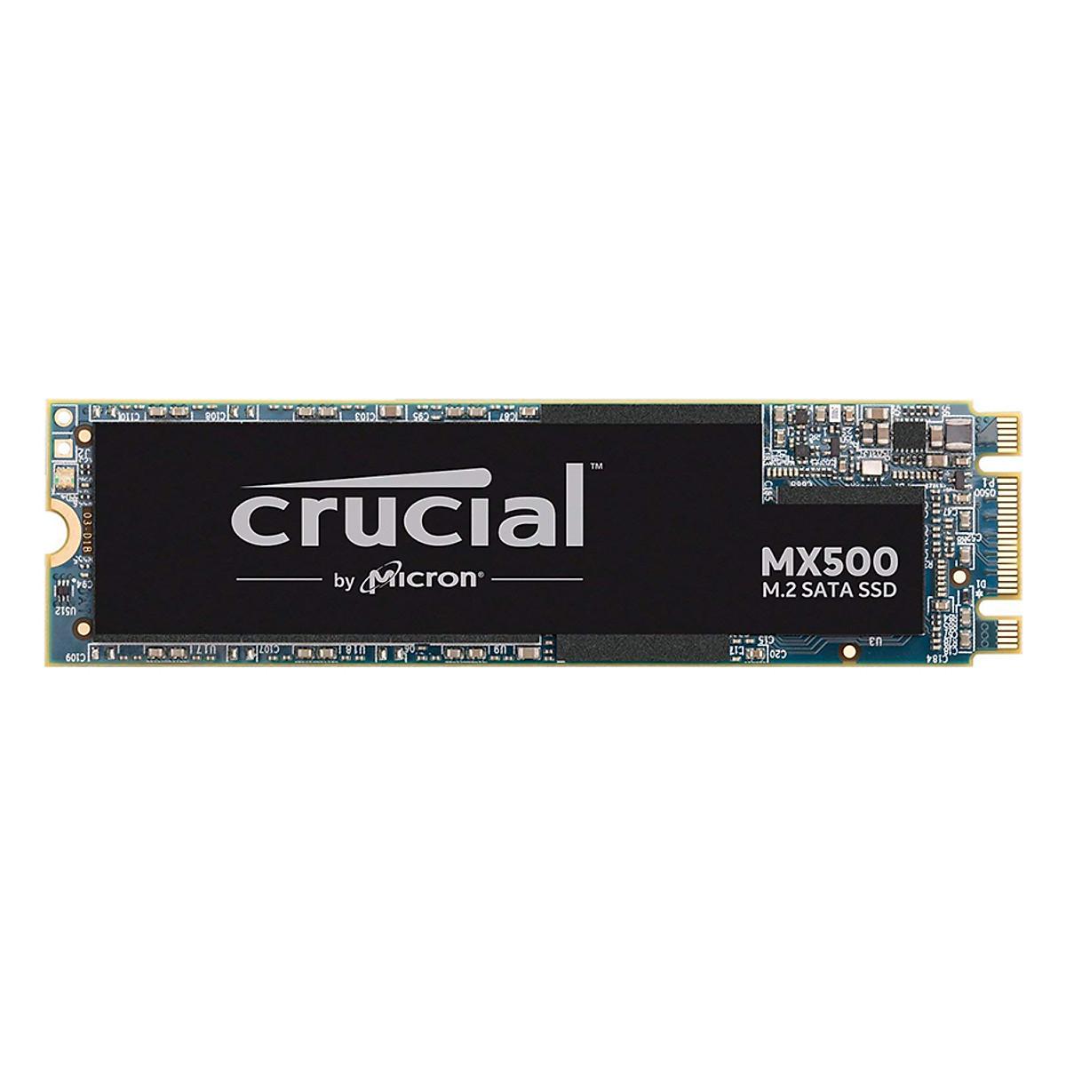 Ổ Cứng SSD Crucial CT250MX500SSD4 250GB Sata III M.2 – Hàng Chính Hãng