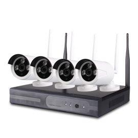 Bộ Camera IP Wifi Không Dây NVR Kit 4 Kênh 1.3MP
