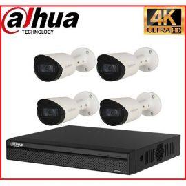Trọn gói Camera Cao cấp 4K 02 – 4 camera Dahua (8MP)