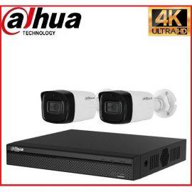 Trọn gói Camera Cao cấp 4K 01 – 2 camera Dahua (8MP)