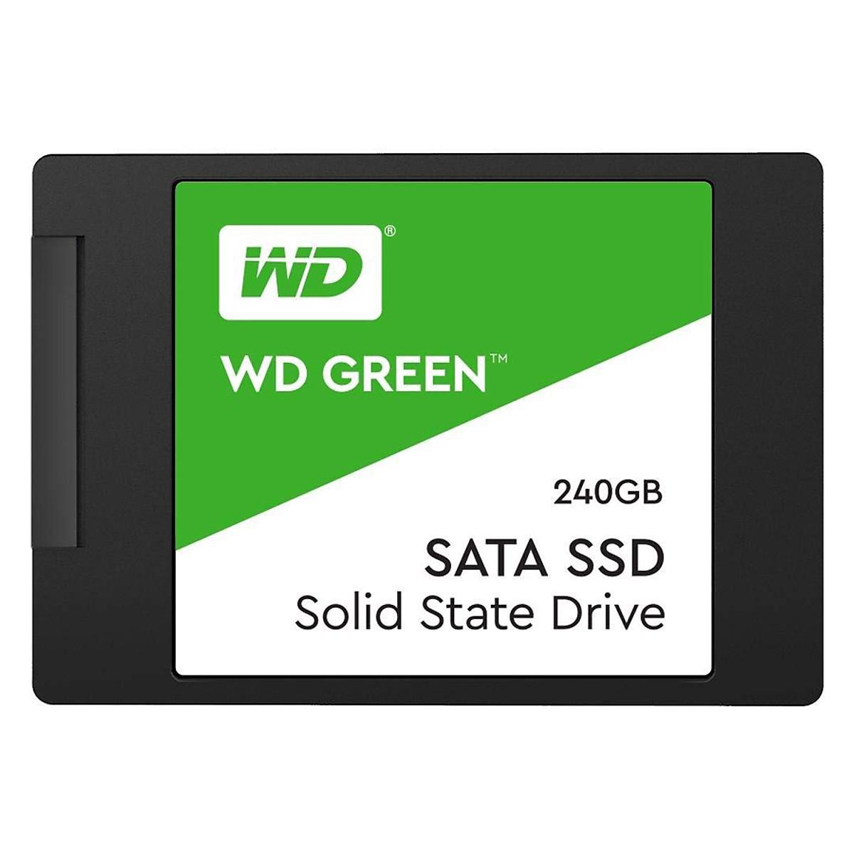 Ổ Cứng SSD 240GB Western Green WDS240G2GOA Sata III 6Gb/s – Hàng Chính Hãng