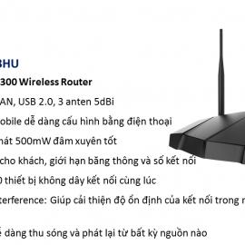 Bộ phát sóng không dây APTEK N303HU
