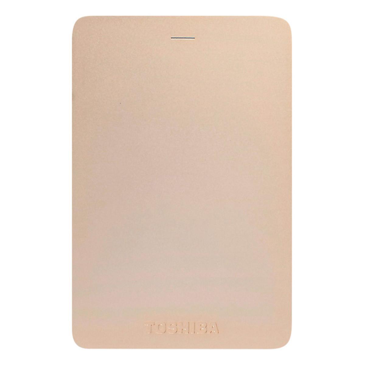 Ổ Cứng Di Động Toshiba CANVIO ALUMY 1TB – USB 3.0 – Hàng Chính Hãng