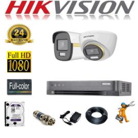 TRỌN GÓI 2 CAMERA HIKVISION 2.0MP (HIK-2143144)