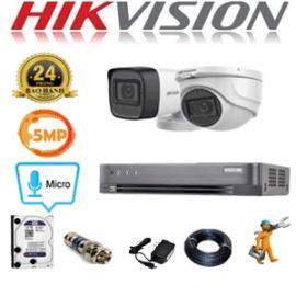 TRỌN GÓI 2 CAMERA HIKVISION 5.0MP (HIK-5125126)